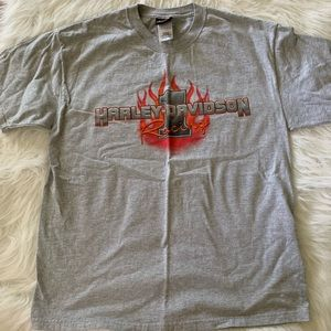 Harley Davidson racing t-shirt